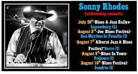 Sonny Rhodes Tour Dates