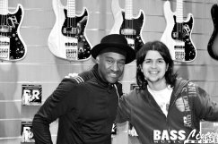 With Marcus Miller, 2009